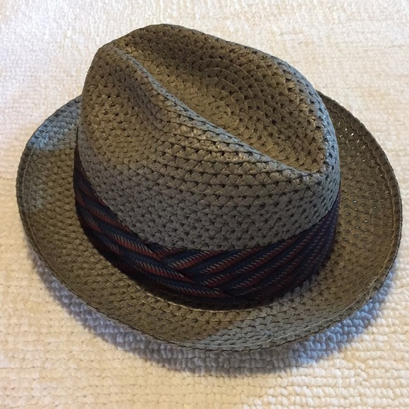 Vintage men s straw hat 1950. M 5b566502d365be2c438e1b90 eb8d0afa61f